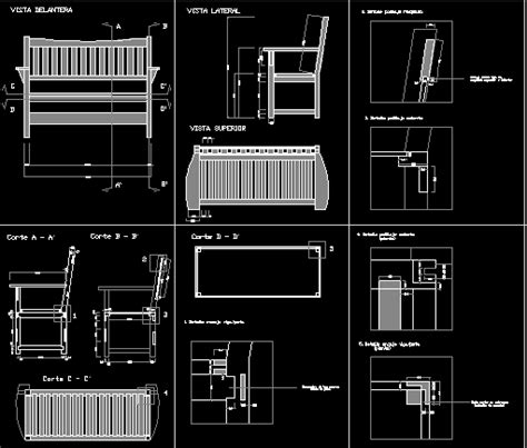 wooden chair dwg detail  autocad designs cad