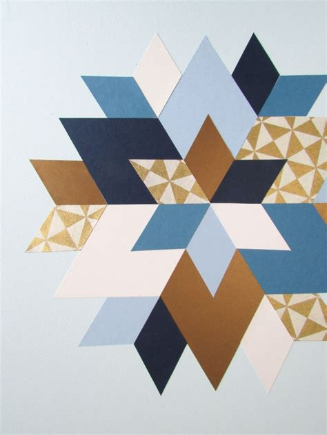 Geometric Wall Decor by Picture Of Trendy And Colorful Diy Geometric Wall 9