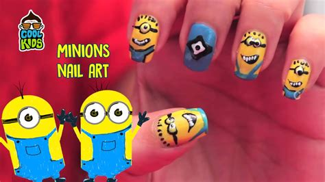 tutorial nail art minions how to do minions nails minions nail art tutorial diy