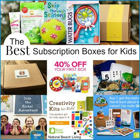 The Best Subscription Boxes For The Best Monthly Subscription Boxes For Living