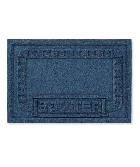 Waterhog Pet Mats by Waterhog Pet Mat Personalized Placemat Personalized Gift Ideas Real Simple