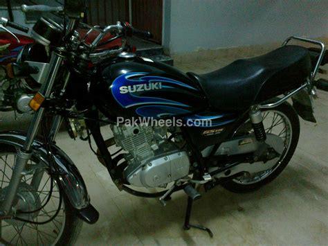 Suzuki Gs 125 For Sale Used Suzuki Gs 125 2009 Bike For Sale In Karachi 91352