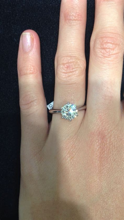 show me your 1 5 2ct solitaire engagement rings