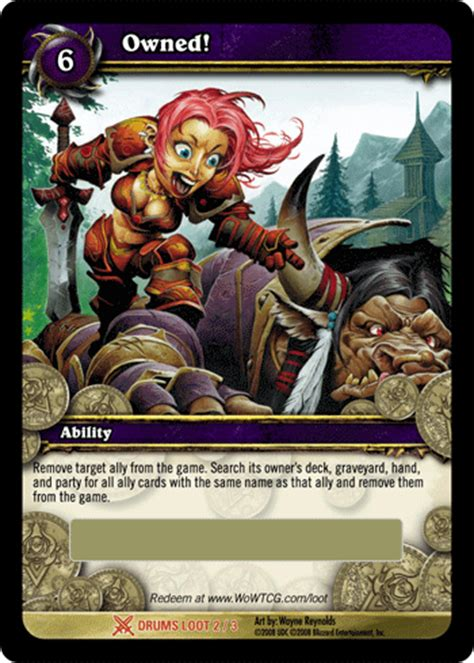 World Of Warcraft Gift Card - world of warcraft tcg owned unscratched loot card hill s wholesale gaming