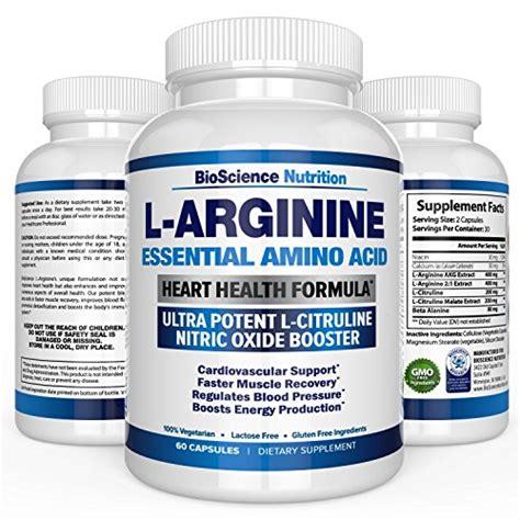supplement l citrulline l arginine 1000mg plus 340mg with l citrulline cardio