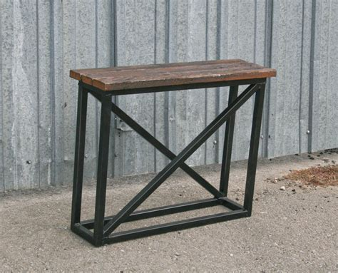 Industrial Side Table Combine 9 Industrial Furniture Industrial Console Table Modern End Table Side Table