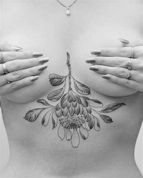 sexy boob tattoos underboob ideas 54 breast tattoos 2017