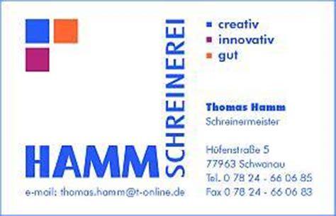 sponsoren - Schreinerei Hamm