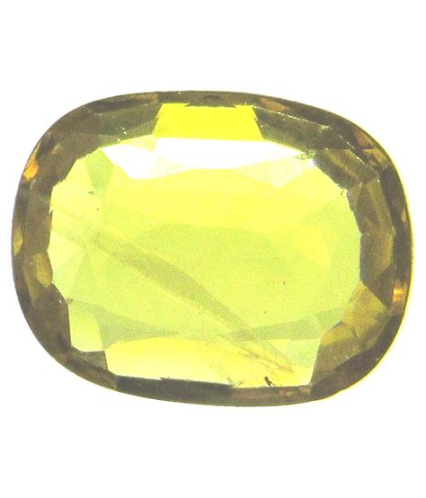 sgj yellow pukhraj gemstone buy sgj yellow pukhraj