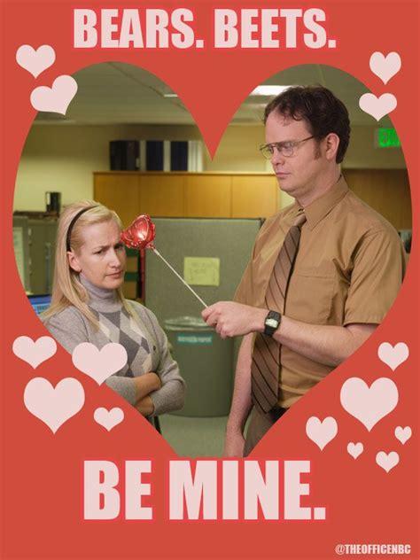 dwight  angela valentines day theoffice