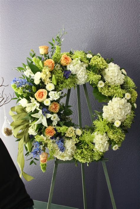 Best Flowers For Funeral by Unique Sympathy Flower Arrangements Funeral Wreath Like