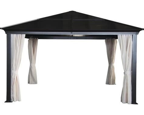 pavillon aluminium 4x4 pavillon sinaia 4x4x3 m polycarbonat braun kaufen bei