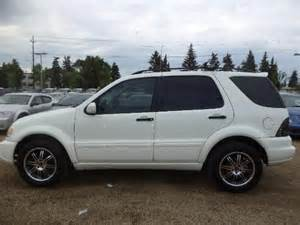2004 Mercedes Ml350 2004 Mercedes M Class Ml350 Ml 350 Awd Edmonton