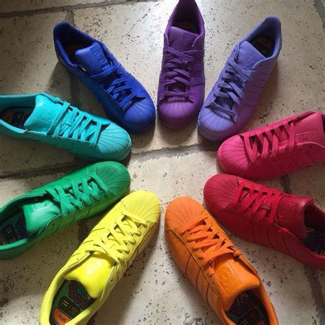 color shoes 65 best superstars colors images on