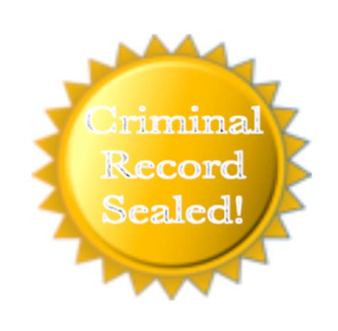Seal Criminal Record In Seal A Criminal Record Cook Cook Firm Pllc