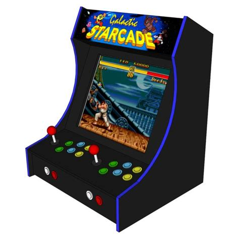 bar top game machine 2 player bartop arcade machine powered by pi do it