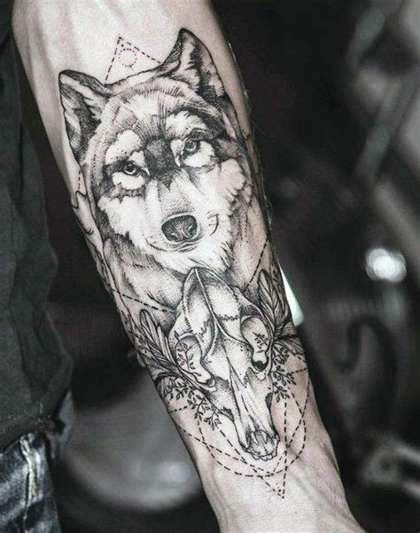 animal tattoo on forearm excellent wolf ideas part 4 tattooimages biz