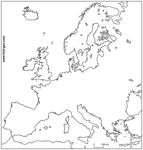 free map template free outline map of europe