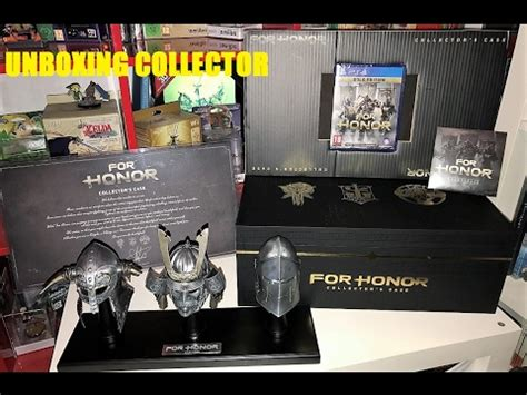 Promo For Honor Collector Edition Ps4 unboxing fr for honor ps4 d 233 ballage de l 233 dition collector exclusive uplay unboxing