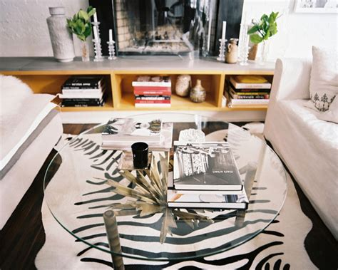 Coffee Table Decorations Glass Table Storage Hearth Photos Design Ideas Remodel And Decor Lonny