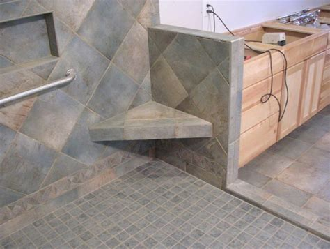 shower bench construction marble shower bench seat home design ideas