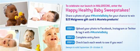 Baby Sweepstakes 2014 - mustela baby skincare products now at walgreens mustelababy the fashionable