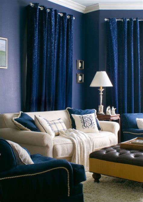 blue family rooms 10 navy rooms to inspire you to up the paintbrush photos huffpost