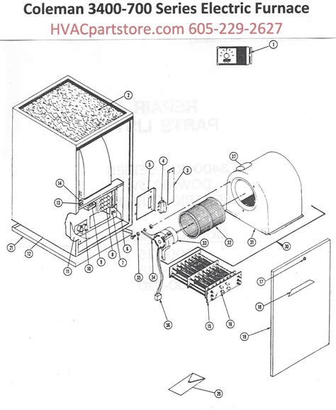 coleman furnace wiring diagram coleman 3400 electric furnace wiring diagram efcaviation