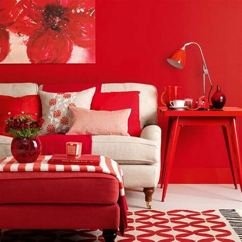 100 best red living rooms interior design ideas this room has monochromatic color harmony the main color