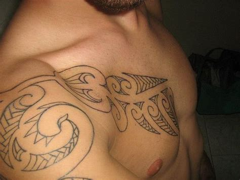 polynesian chest tattoo badass ink pinterest chest 278 best images about man s tattoo on pinterest samoan