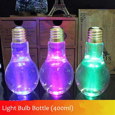 Milk Fruit Bottle Plastic 400ml 2016 new l beverage bottle milk bulb bottle 400ml creative juice tea shop drink bottles with