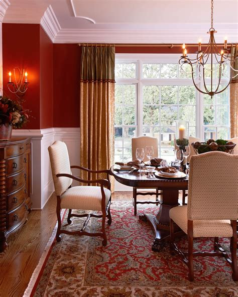 red dining rooms 5 easy ways to make your home warm and cozy this holiday