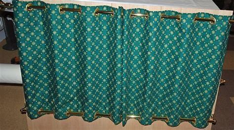 Picture Curtains 6 Pairs Eyelet Curtains For Narrowboat Widebeam Canal