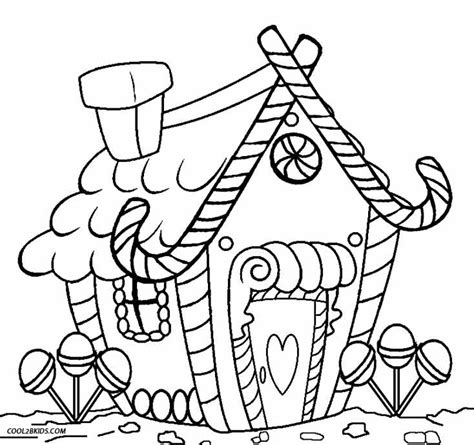 Free Gingerbread Coloring Pages free gingerbread house coloring pages