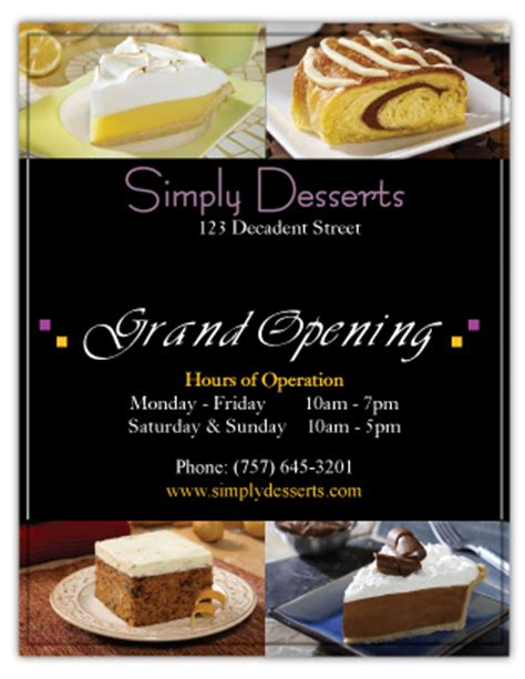 Small Business Flyer Exles