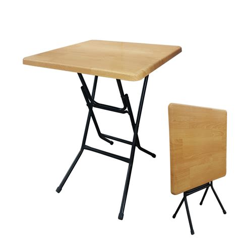 2 square folding table hardboard folding table 2ft square lilian construction