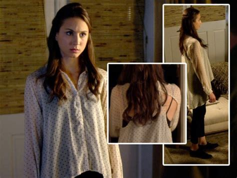Pretty Liars Wardrobe by Pretty Liars A Spencer Crossed Smile