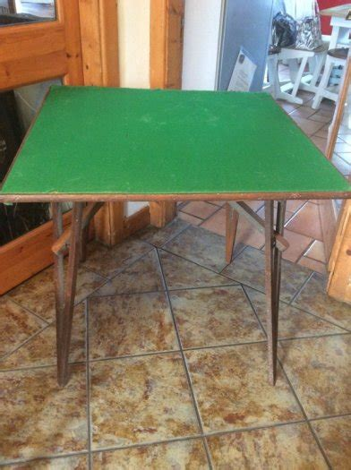 fold away card table antique fold away card table for sale in mullingar