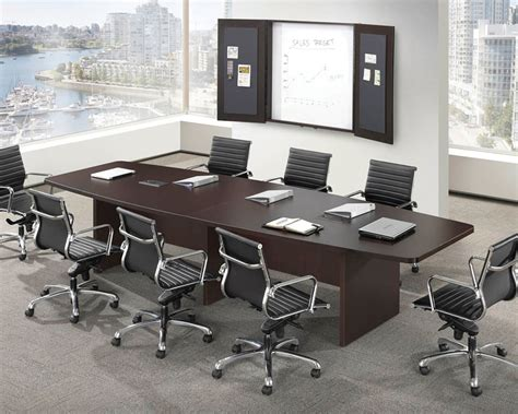Office Boardroom Tables Classic Boat Shaped Conference Table
