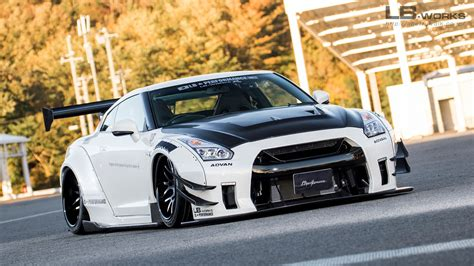 subaru liberty walk lb works nissan gt r r35 type 2 liberty walk リバティーウォーク