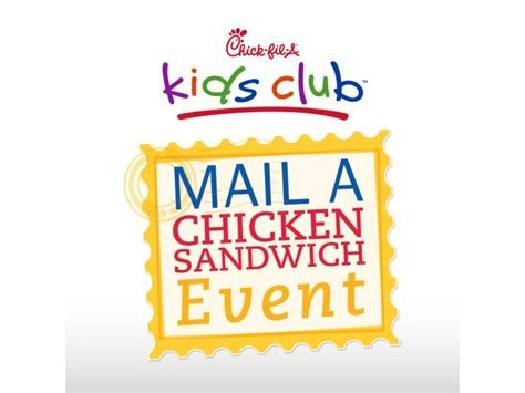 Https Www Chick Fil A Com Gift Card - kids club kindness mail a chicken sandwich event patch