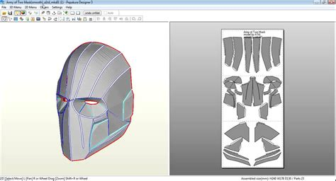 Topeng Batman Mask Vs Superman all my pepakura files all links in description