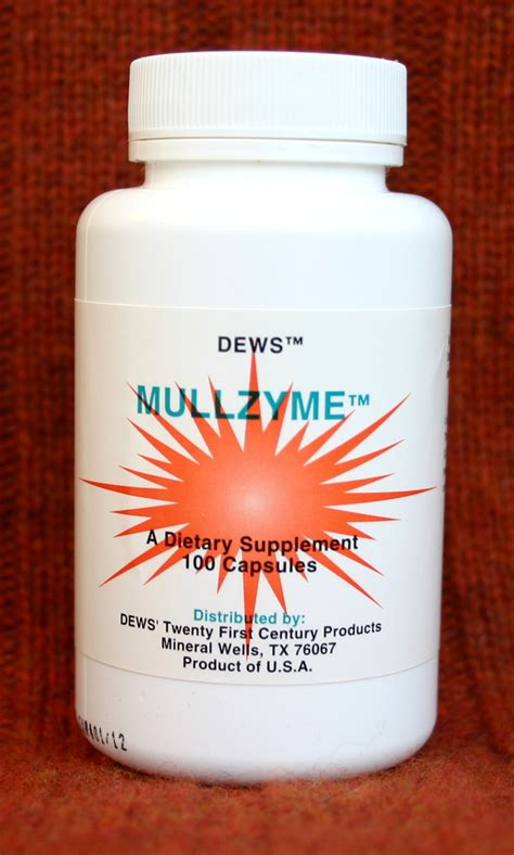 Mucus Detox by Mullzyme Mucus Dissolver