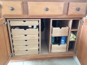bathroom cabinet organizer ideas bathroom cabinet storage drawers by td69mustang lumberjocks woodworking community