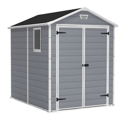 100 keter manor 4x6 shed outdoor resin storage keter storage sheds plastic shed kits buildings