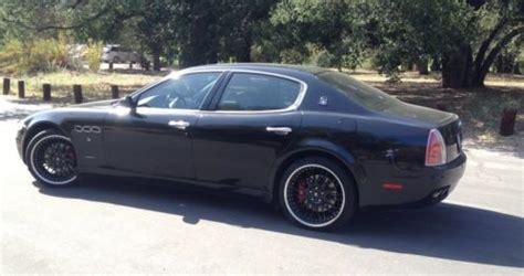 maserati 4 door sports car find used maserati quattroporte gt 2007 4 door black