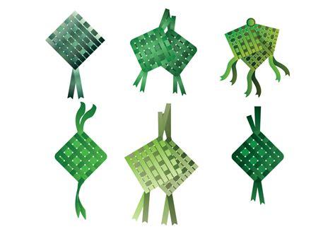 ketupat vector   vector art stock graphics
