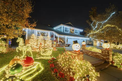 the best neighborhood christmas light displays in placer