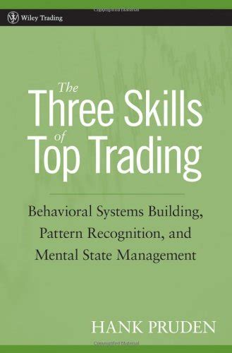 pattern recognition and trading decisions pdf the three skills of top trading behavioral systems