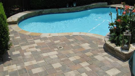 pool deck stone pool decks legacy custom pavers